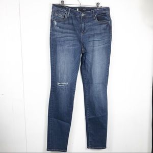 Kut from the Kloth   Diana Skinny Distressed Jeans